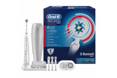 Зубная щетка электрическая Oral-B PRO-6000 Smart Series белый