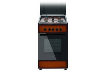 Плита газовая Simfer F55GD41001 коричневая