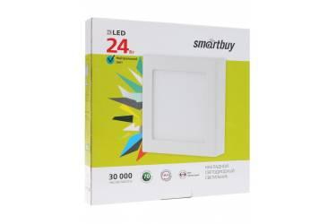 Накладной (LED) светильник Square SDL Smartbuy-24w/6500K/IP20 _квадрат_280/280x28