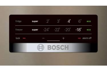 Холодильник Bosch KGN39XG34R золотистый (двухкамерный)