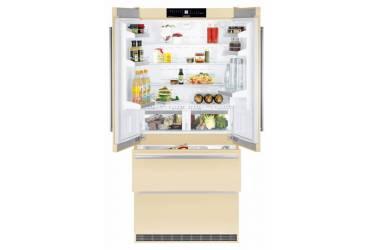 Холодильник Liebherr CBNbe 6256 бежевый (трехкамерный)