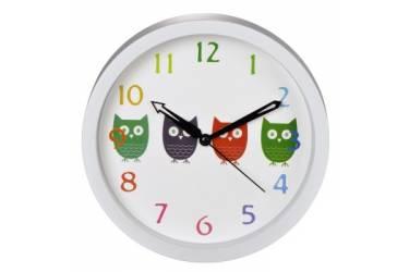 Часы настенные аналоговые Hama Owls H-123168