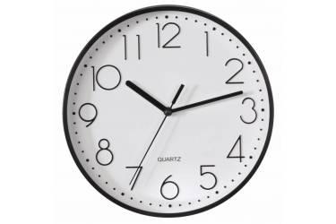 Часы настенные аналоговые Hama PG-220 черный