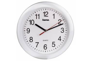 Часы настенные аналоговые Hama PP-250 H-113921 белый