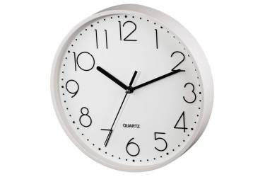 Часы настенные аналоговые Hama PG-220 белый