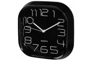 Часы настенные аналоговые Hama PG-280 черный