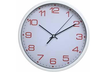 Часы настенные аналоговые Бюрократ WallC-R07P белый