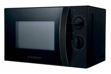 Микроволновая Печь Starwind SMW2320 20л. 700Вт черный, механика, ручка