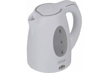 Чайник электрический Sinbo SK 2384B 1.5л. 2000Вт белый (корпус: пластик)