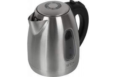 Чайник электрический Sinbo SK 2391B 1.7л. 2000Вт серебристый (корпус: нержавеющая сталь)