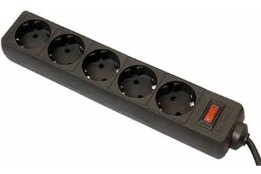 Сетевые фильтры Supra SF-5-ES-3M black