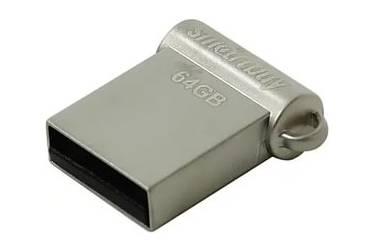 USB флэш-накопитель 64GB SmartBuy Wispy серебристый USB2.0