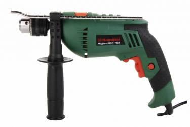 Дрель ударная Hammer Flex UDD710A 710Вт патрон:кулачковый реверс.