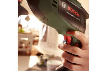 Дрель ударная Bosch UniversalImpact 700 701Вт патрон:быстрозажимной реверс пластик бокс