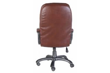 Кресло руководителя Бюрократ Ch-868AXSN коричневый искусственная кожа крестовина пластик пластик темно-серый