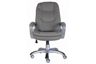 Кресло руководителя Бюрократ Ch-868AXSN серый искусственная кожа крестовина пластик пластик серебро