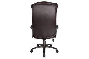 Кресло руководителя Бюрократ CH-879 темно-коричневый искусственная кожа крестовина пластик пластик темно-серый