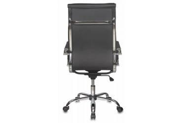Кресло руководителя Бюрократ Ch-993 черный искусственная кожа крестовина металл хром