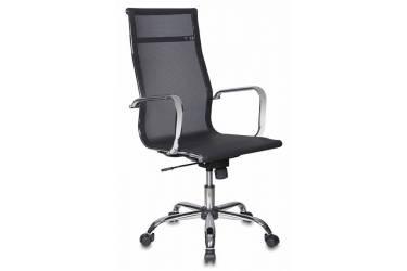 Кресло руководителя Бюрократ CH-993 черный M01 сетка крестовина металл хром
