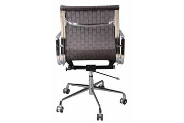 Кресло руководителя Бюрократ CH-996-Low/007 низкая спинка коричневый сетка крестовина алюминий