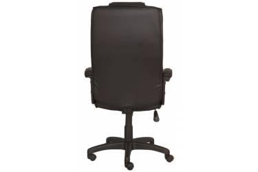 Кресло руководителя Бюрократ T-9906AXSN черный кожа