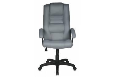 Кресло руководителя Бюрократ T-9906AXSN/F11 серый F11 искусственный нубук