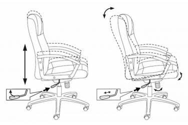 Кресло руководителя Бюрократ T-9906AXSN/F9 песочный F9 искусственный нубук