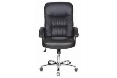 Кресло руководителя Бюрократ T-9908AXSN-AB черный кожа крестовина металл хром