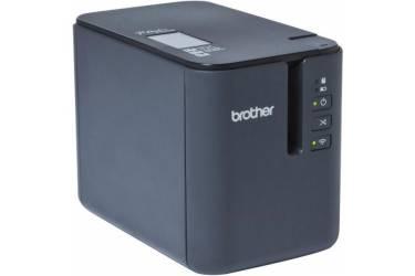 Термопринтер Brother PTP-900W (для печ.накл.) стационарный светло-серый/черный