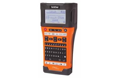 Термопринтер Brother P-touch PT-E550WVP (для печ.накл.) переносной оранжевый/черный