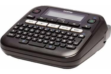 Термопринтер Brother P-touch PT-D210 (для печ.накл.) стационарный черный