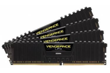 Память DDR4 4x16Gb 2666MHz Corsair CMK64GX4M4A2666C16 RTL PC4-21300 CL16 DIMM 288-pin 1.2В