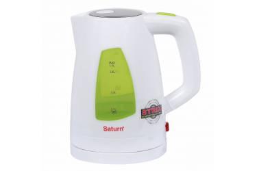Чайник электрический Saturn ST-EK8418 белый 1,7л 2200Вт  STRIX  контакт
