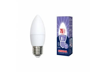 Лампа светодиодная Uniel Norma LED-C37-9W/DW/E27/FR/NR картон