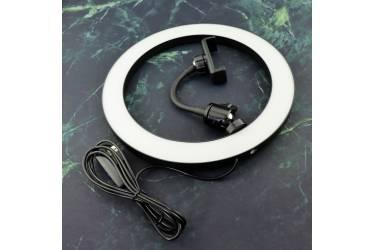 Кольцевая лампа NE, с держателем для телефона, диаметром 26 см
