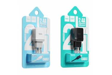 CЗУ Hoco C22A little superior charger set + lightning White