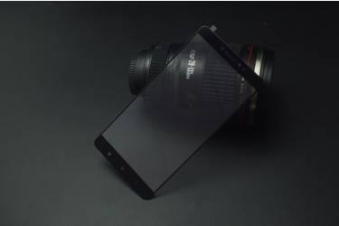 Защитное стекло 2.5D для Samsung SM-A520 Galaxy A5 (2017) Чёрный тех.пак