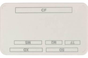 Устройство чтения карт памяти PC PET CR-217COG USB 2.0 SDHC/CF/XD/MS/TF/M2 (24-in-1) Оранжевый