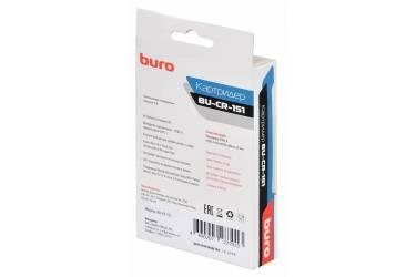 Устройство чтения карт памяти USB2.0 Buro BU-CR-151 черный