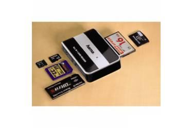 Устройство чтения карт памяти USB2.0 Hama H-49016 черный