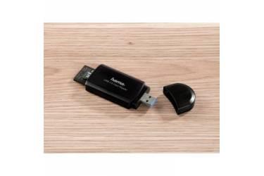 Устройство чтения карт памяти USB3.0 Hama H-39871 черный
