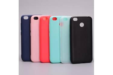 Силиконовый чехол Silicone Cover для Xiaomi Redmi Note 5A Prime Розовый