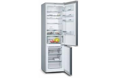 Холодильник Bosch KGN39LB31R черное стекло/серебристый металлик (двухкамерный)