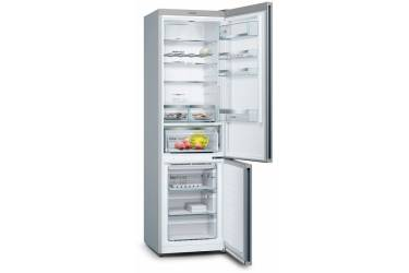 Холодильник Bosch KGN39LW31R белое стекло/серебристый металлик (двухкамерный)