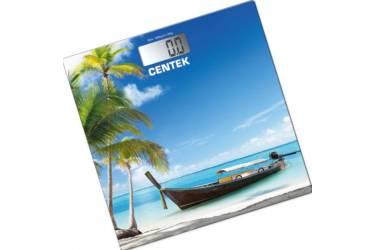 Весы напольные электронные Centek CT-2419 пляж 180кг, 0,1кг, размер 28х28см