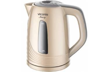 Чайник электрический VICONTE VC-3284 золотой 2200Вт 1,8л
