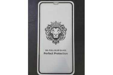 _Защитное стекло Xiaomi Note 8 Pro с рамкой 9H Full Glue NEW