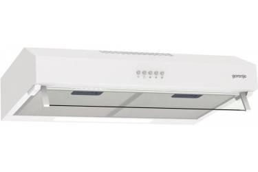Вытяжка козырьковая Gorenje WHU529EW/M белый управление: кнопочное (1 мотор)