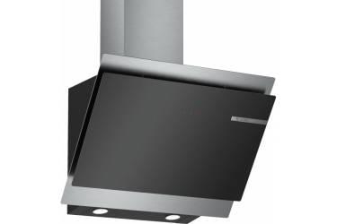 Вытяжка каминная Bosch DWK68AK60R черный/нержавеющая сталь управление: сенсорное (1 мотор)