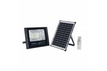 Прожектор светодиодный Uniel ULF-M51S-40W/4000К/SOL SENSOR IP65 BLACK питание солнечн батарея